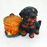 Кашпо Собака рядом с ведром 22*19*15 см