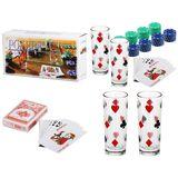 Покерный набор (60фишек карты 2стакана) (габ. кор. 30.5*15*5.5см)