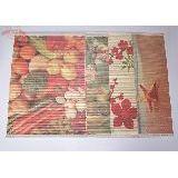 Салфетка бамбук цветная с рисунком 30*45см