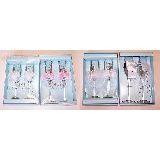 Набор из 2-х бокалов в/к Wedding collection в ассортименте 29*19см стекло